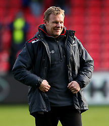 Mark McCall director of rugby for Saracens - Mandatory by-line: Matt McNulty/JMP - 20/11/2016 - RUGBY - AJ Bell Stadium - Sale, England - Sale Sharks v Saracens - Aviva Premiership