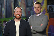 SHOT 11/10/20 4:40:31 PM - Corey Knoebel and Tyler Patrick, Attorneys with Patrick & Knoebel LLC in Denver, Colorado. (Photo by Marc Piscotty / © 2020)
