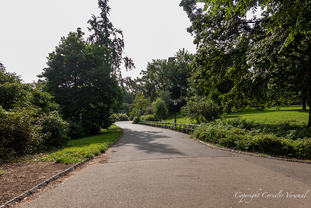 Path from Bow Bridge to Bethesda Terrace in Central Park