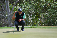 Tiger Woods (USA) looks over his putt on 2 during day 2 of the WGC Dell Match Play, at the Austin Country Club, Austin, Texas, USA. 3/28/2019.<br /> Picture: Golffile | Ken Murray<br /> <br /> <br /> All photo usage must carry mandatory copyright credit (© Golffile | Ken Murray)