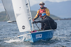 Largs Regatta Festival 2018<br /> <br /> Day 1 - RS 200, Daniel Smith and Wendy Tuck<br /> <br /> Images: Marc Turner