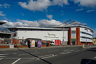 Outside of the Racecourse Ground ahead of the Friendly European Championship warm up match between Wales and Trinidad and Tobago at the Racecourse Ground, Wrexham, United Kingdom on 20 March 2019.