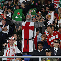 General views of fans during the Rugby World Cup Final match between South Africa Springboks and England Rugby World Cup Final at the International Stadium Yokohama  Japan.Saturday 02 November 2019. (Mandatory Byline - Fotosport/David Gibson)