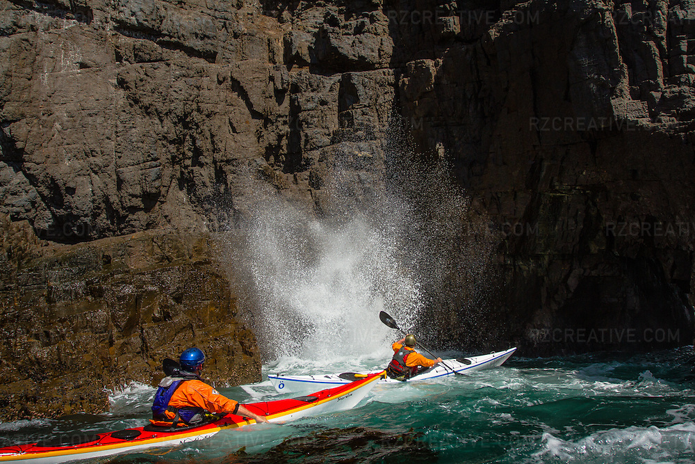 Sea kayaking Baja, Mexico
