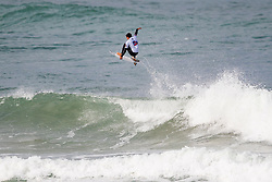 Eithan Osborne (USA) surfing in Qualifying Round 1 Heat 3 of the WSL Redbull Airborne event in Hossegor, France.