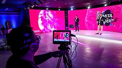 """Coordenadores PL Richard Simões Pires Sacks (E) e Matheus Henrique de Oliveira (D) durante a 34ª edição do Fórum da Liberdade. A edição de 2021 irá debater com palestrantes que são autoridades no assunto sobre os impactos das mídias sociais na liberdade de expressão, de forma com que todos os participantes possam refletir, conhecer diferentes pontos de vistas e, ao final do evento, consigam responder ao tema central da edição: """"O digital limita ou liberta?"""". Foto: Marcos Nagelstein/ Agência Preview"""