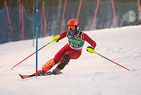 Nyquist Slalom race with Gunstock Ski Club.   ©2021 Karen Bobotas Photographer