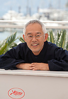 Producer, Studio Ghibli, Toshio Suzuki at the The Red Turtle film photo call at the 69th Cannes Film Festival Wednesday 18th May 2016, Cannes, France. Photography: Doreen Kennedy