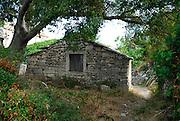 Traditional stone building, island of Vrnik, Croatia