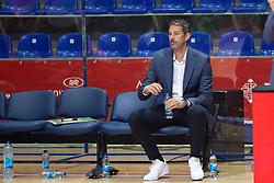 Jurica Golemac, head coach of Cedevita Olimpija during basketball match between KK Crvena Zvezda and KK Cedevita Olimpija in Round #4 of ABA League 2021/22, on October 17, 2021 in Arena Stark, Belgrade, Serbia. Foto: Djordje Krstic / MN Press / Sportida