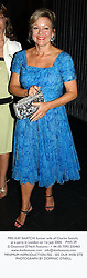MRS KAY SAATCHI former wife of Charles Saatchi, at a party in London on 1st July 2004.PWS 29