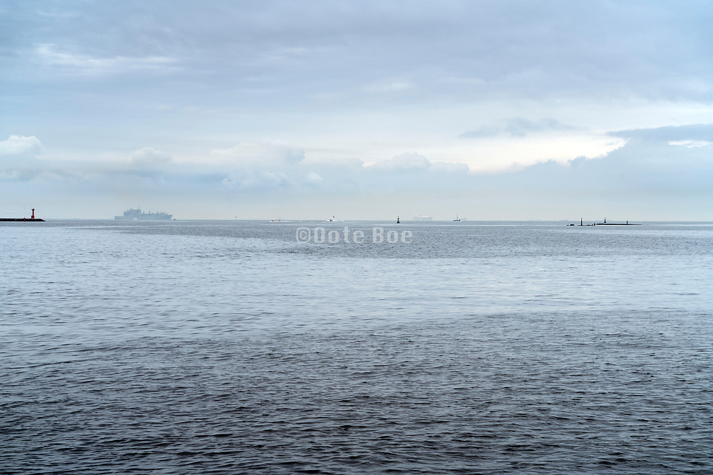 army ship in the Tokyo bay at Yokosuka Japan