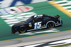 July 13, 2018 - Sparta, Kentucky, United States of America - Ross Chastain (15) brings his race car down the front stretch during practice for the Quaker State 400 at Kentucky Speedway in Sparta, Kentucky. (Credit Image: © Chris Owens Asp Inc/ASP via ZUMA Wire)