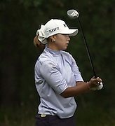 Friday 3rd August 2001..Mi Hyun Kim, tee's of the 13th.2001 Weetabix Women's Open, Sunningdale,..[Mandatory Credit Peter Spurrier/ Intersport Images]