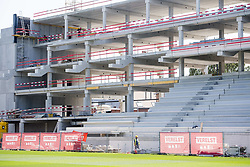 July 23, 2018 - Mechelen, BELGIUM - Illustration picture shows the construction of te new stadium before the 2018-2019 season photo shoot of Belgian second division soccer team KV Mechelen, Monday 23 July 2018 in Mechelen. BELGA PHOTO JASPER JACOBS (Credit Image: © Jasper Jacobs/Belga via ZUMA Press)