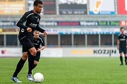 Nordin Zoufri of VV Maarssen in action. First friendly match after the Corona outbreak. VV Maarssen lost the away match against big league Spakenburg 5-1 on 4 July 2020 in Spakenburg.