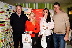 Petra Dragsic in Nastja Glebov na drzavnem prvenstvu veteranskih dvojic v tenisu, 24. marec 2018, BTC Millenium center, Ljubljana, Slovenia. Photo by Vid Ponikvar / Sportida