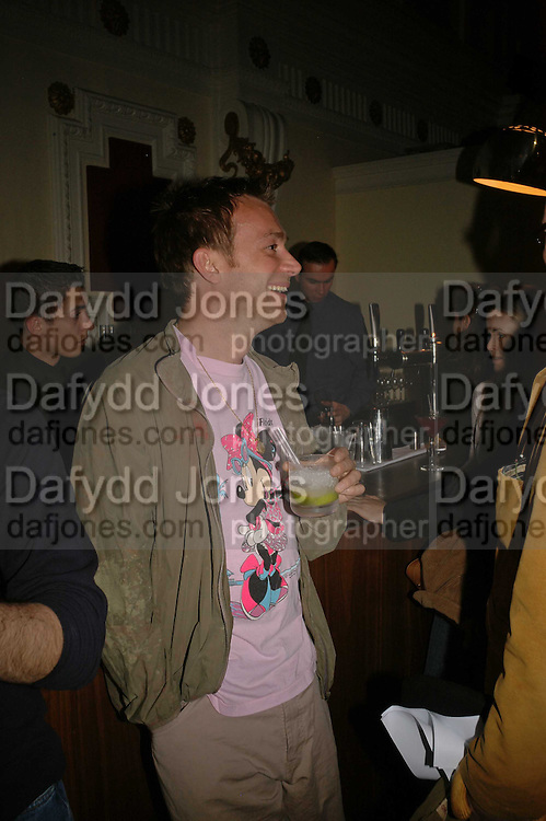 Damon Albarn, Terry Gilliam Host screening of Stanley Kubrick Dr. Strangelove. Part of the Grand Classics project,  The Electric Cinema, 191 Portobello Road, London, W10,<br />3 May 2006. ONE TIME USE ONLY - DO NOT ARCHIVE  © Copyright Photograph by Dafydd Jones 66 Stockwell Park Rd. London SW9 0DA Tel 020 7733 0108 www.dafjones.com