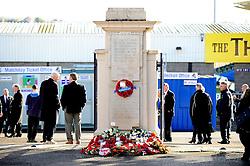 Memorial service at the Memorial Stadium - Mandatory by-line: Dougie Allward/JMP - 11/11/2016 - FOOTBALL - Memorial Stadium - Bristol, England - Bristol Rugby Memorial Service