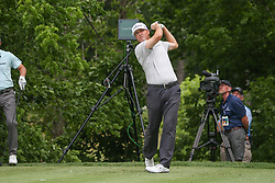 May 23, 2019 - Forth Worth, TX, U.S. - FORTH WORTH, TX - MAY 23: Ryan Palmer hits from the 6th tee during the first round of the Charles Schwab Challenge on May 23, 2019 at Colonial Country Club in Fort Worth, TX. (Photo by George Walker/Icon Sportswire) (Credit Image: © George Walker/Icon SMI via ZUMA Press)