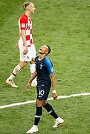 Kylian Mbappe of France celebrates after his goal during the 2018 FIFA World Cup Russia, final football match between France and Croatia on July 15, 2018 at Luzhniki Stadium in Moscow, Russia - Photo Tarso Sarraf / FramePhoto / ProSportsImages / DPPI