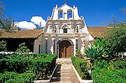 ECUADOR, HIGHLANDS Hacienda La Cienega chapel