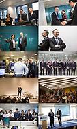 Janvier 2018. Visite des équipes d'Axa à Paris La défense et à Londres par Thomas Buberl, PDG d'AXA.