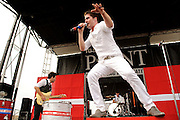 Greek Fire performing at Pointfest at Verizon Wireless Amphitheater in St. Louis on August 20, 2011. © Todd Owyoung.