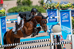 Alvarez Aznar Eduardo, ESP, Rokfeller de Pleville Bois Margot<br /> World Equestrian Games - Tryon 2018<br /> © Hippo Foto - Dirk Caremans<br /> 21/09/2018
