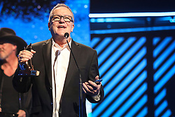 October 16, 2018 - Nashville, TN, U.S. - NASHVILLE, TN - OCTOBER 16: Mark Lowry wins Southern Gospel Album of the Year during the 49th Annual Dove Awards on October 16, 2018, at Allen Arena in Nashville, TN. (Photo by Jamie Gilliam/Icon Sportswire) (Credit Image: © Jamie Gilliam/Icon SMI via ZUMA Press)