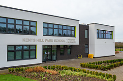© Licensed to London News Pictures. 08/02/2020. Milton Keynes, UK. Kents Hill Park Nursery and Primary School is located approximately 300 meters  from the Kents Hill Park Training and Conference Centre. A Milton Keynes conference centre is to house evacuees from the Chinese city of Wuhan, the epicentre of the Novel Coronavirus (2019-nCoV) outbreak, the British citizens are due to be flown back on Sunday 9th February and are expected to land at RAF Brize Norton in Oxfordshire and will remain at the Kents Hill Park Training and Conference Centre for 14 days to be monitored. Photo credit: Peter Manning/LNP