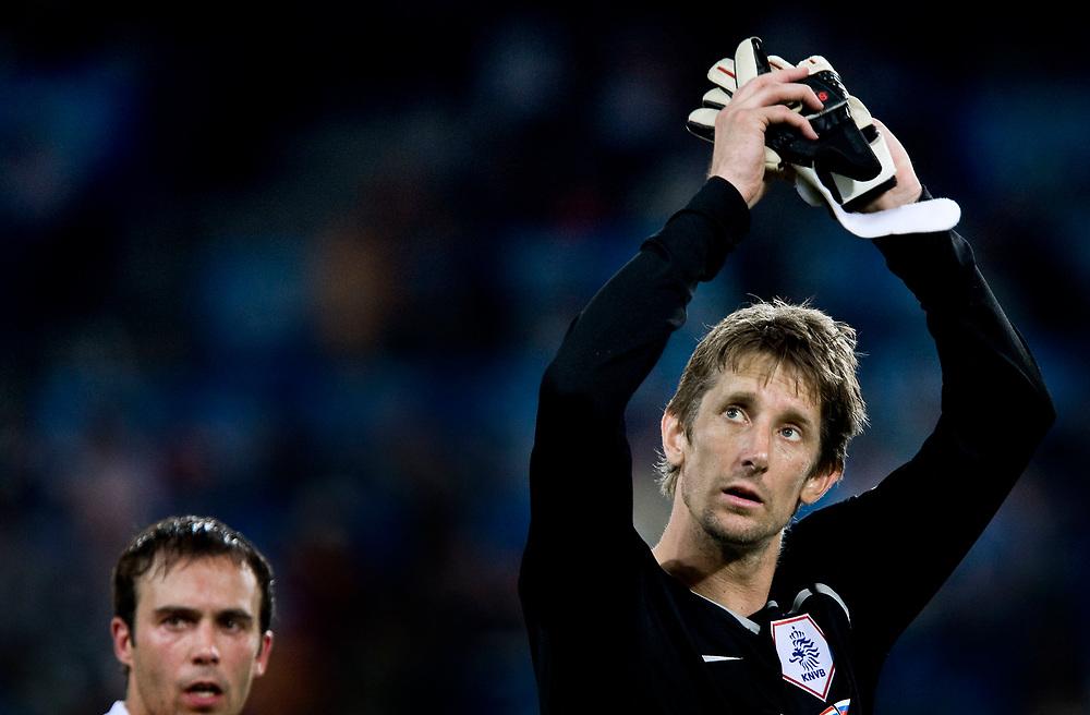 Zwitserland. Basel, 21-06-2008.<br /> EK voetbal. Kwartfinale Nederland tegen Rusland.<br /> Nederland verliest met 3-1 van het team van Guus Hiddink.<br /> Foto: Patrick Post / Sportstation