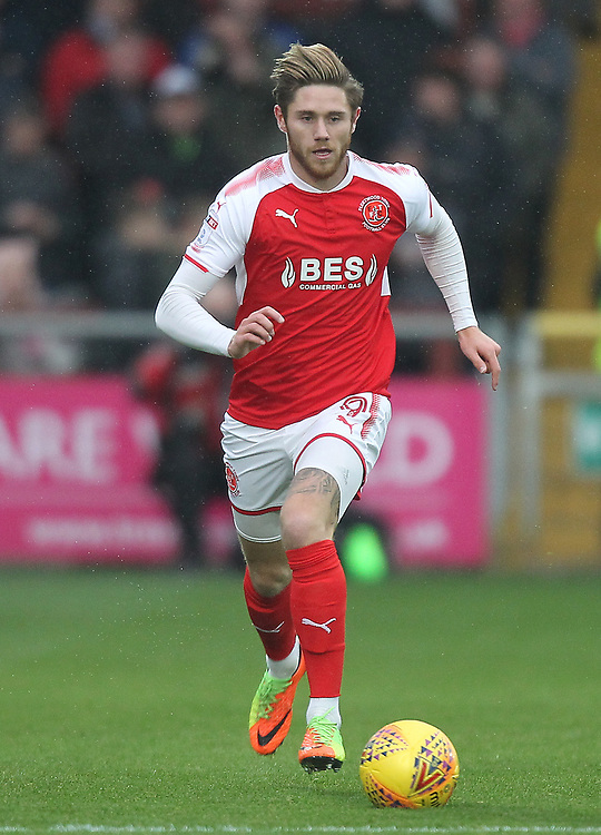 Fleetwood Town's Wes Burns<br /> <br /> Photographer Mick Walker/CameraSport<br /> <br /> The EFL Sky Bet League One - Fleetwood Town v Doncaster Rovers - Saturday 18th November 2017 - Highbury Stadium - Fleetwood<br /> <br /> World Copyright © 2017 CameraSport. All rights reserved. 43 Linden Ave. Countesthorpe. Leicester. England. LE8 5PG - Tel: +44 (0) 116 277 4147 - admin@camerasport.com - www.camerasport.com