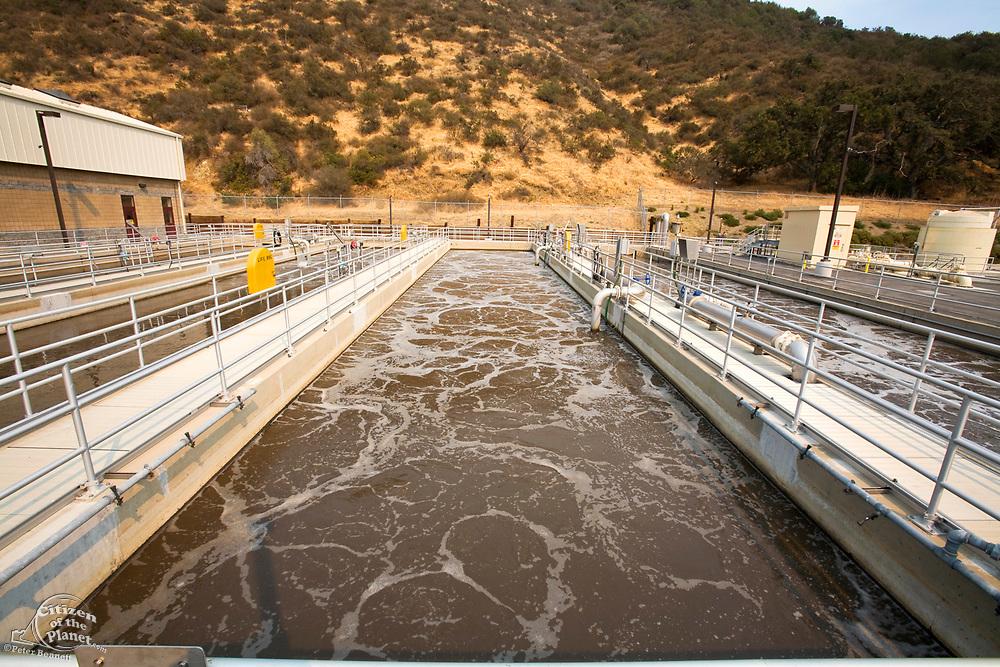 Aeration System, Hill Canyon Wastewater Treatment Plant, Camarillo, Ventura County, California, USA