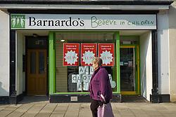 Barnardo's charity shop, Aberystwyth Wales