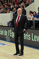 Alain Weisz - 27.12.2014 - Paris Levallois / Nancy - 15eme journee de Pro A<br />