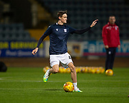 06/10/2020: Dundee FC train at Kilmac Stadium after their Betfred Cup match against Forfar Athletic was postponed due to a positive COVID test result for one of the Forfar players: Danny Strachan of Dundee<br /> <br /> <br />  :©David Young: davidyoungphoto@gmail.com: www.davidyoungphoto.co.uk