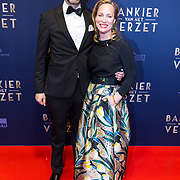 NLD/Amsterdam/20180305 - Première Bankier van het Verzet, Prinses Margarita en partner Tjalling ten Cate