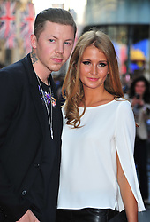"""© Licensed to London News Pictures. 30/05/2012. Watford, England. Professor Green and Millie Mackintosh attends the world premiere of """"ILL MANNERS"""" featuring Plan B at The Empire Liecester Square London   Photo credit : ALAN ROXBOROUGH/LNP"""