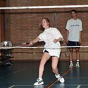 Badminton speelster Frederique Schuitenaar genomineerd voor de Sportvrouw van het jaar 1999 gemeente Huizen