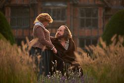 Judi Dench as Anne Hathaway, Kenneth Branagh as William Shakespeare