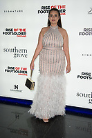 Amel Rachedi  at the Rise Of The Footsoldier Origins Premiere, Cineworld Leicester Square in Leicester Square, London
