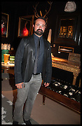 EVGENY LEBEDEV at the preview of LAPADA Art and Antiques Fair. Berkeley Sq. London. 23 September 2014.