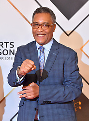 Michael Watson during the red carpet arrivals for the BBC Sports Personality of the Year 2018 at The Vox at Resorts World Birmingham.