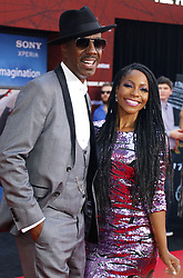 Shahidah Omar and J. B. Smoove at the World premiere of 'Spider-Man Far From Home' held at the TCL Chinese Theatre in Hollywood, USA on June 26, 2019.