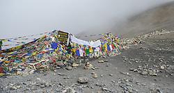 THEMENBILD - Trekkingtour in Nepal um die Annapurna Gebirgskette im Himalaya Gebirge. Das Bild wurde im Zuge einer 210 Kilometer langen Wanderung im Annapurna Gebiet zwischen 01. September 2012 und 15. September 2012 aufgenommen. im Bild Thorang La Pass auf 5416 m // THEME IMAGE FEATURE - Trekking in Nepal around Annapurna massif at himalaya mountain range. The image was taken between september 1. 2012 and september 15. 2012. Picture shows Thorang La Pass at an altitude of 5416 m, NEP, EXPA Pictures © 2012, PhotoCredit: EXPA/ M. Gruber