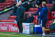 Walsall   Manager Jon Whitney  during the EFL Sky Bet League 1 match between Walsall and Bradford City at the Banks's Stadium, Walsall, England on 17 December 2016. Photo by Simon Davies.