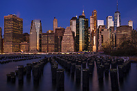 Lower Manhattan Skyline from Pier 1, Brooklyn
