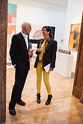 FIONA BANNER, RICHARD LONG, 2019 Royal Academy Annual dinner, Piccadilly, London.  3 June 2019