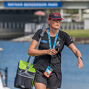 RNZ Athlete Support<br /> <br /> Semi-Finals races at the World Championships, Sarasota, Florida, USA Friday 29 September 2017. Copyright photo © Steve McArthur / Rowing NZ